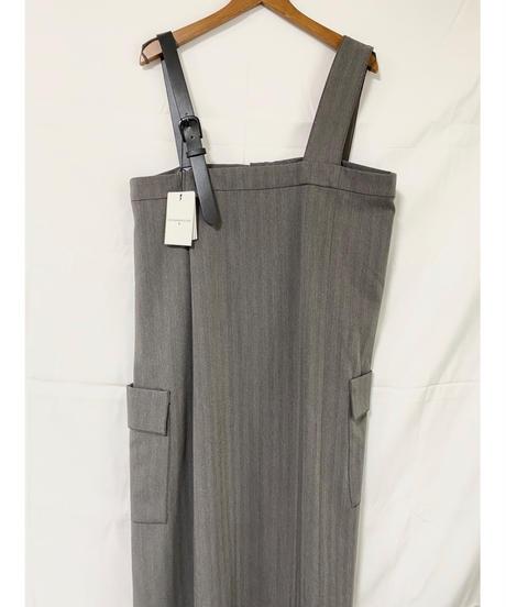 CHIGNONSTAR ★ asymmetry jumper skirt