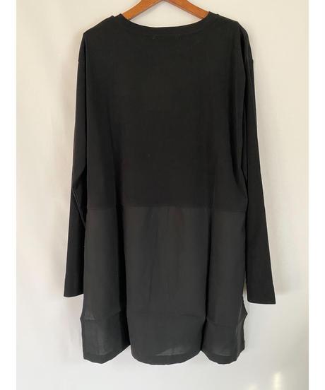 CHIGNON ★ docking shirt tail-T