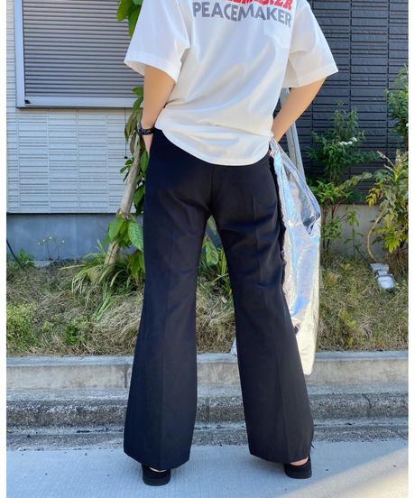 CHIGNON ★ center press flare pants