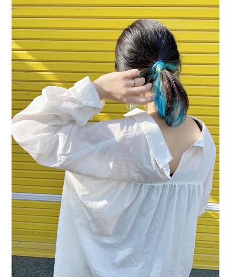 CHIGNONSTAR ★ tuck blouse