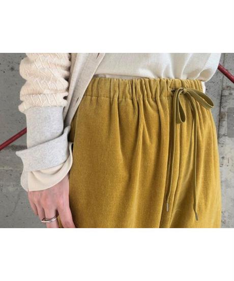 FOSI. ★ chambray corduroy wide pants