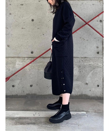 FOSI. ★ side snap quilting one-piece