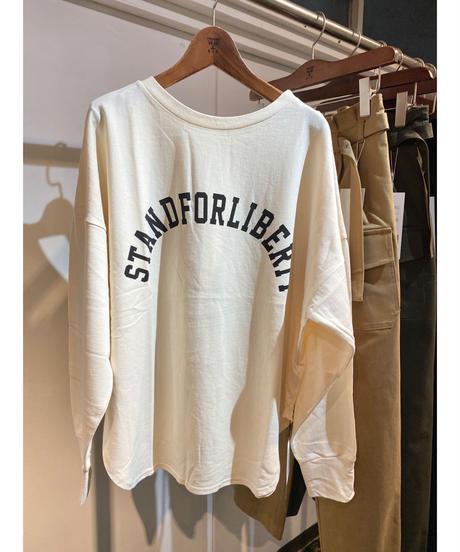 CHIGNONSTAR ★ longsleeve logo print T-shirt
