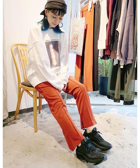 CHIGNONSTAR ★ slit jersey pants