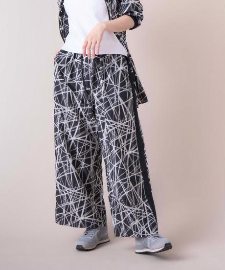 SRIC ★ slash print easy pants