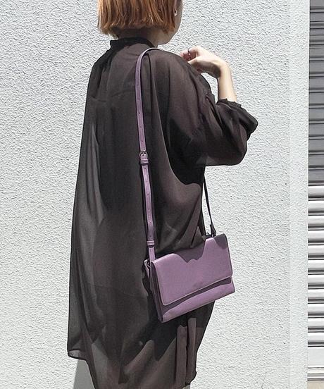 【B-20199】BEAURE ヴュレ カウレザー カブセ ミニ ショルダー
