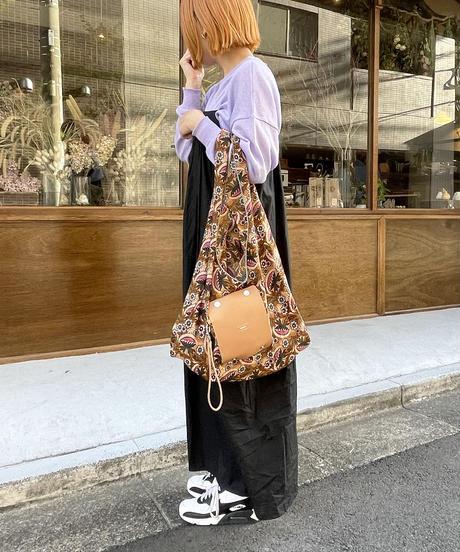 【B-20400】BEAURE ヴュレ 花柄 ポケッタブル エコバッグ