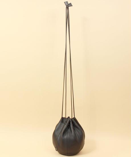 【B-21012】BEAURE ヴュレ カウレザー 巾着 ショルダー バッグ
