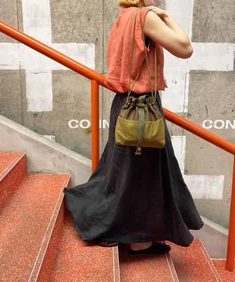 【B-21329】BEAURE ヴュレ Olive Collection drawstring bag