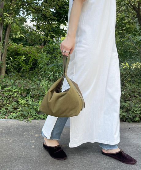 【B-21331】BEAURE ヴュレ Olive Collection mini shoulder tote