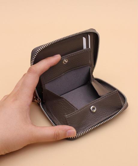 【BS-30062】Beaure Second ビュレ セカンド ラウンドジップ 二つ折り財布