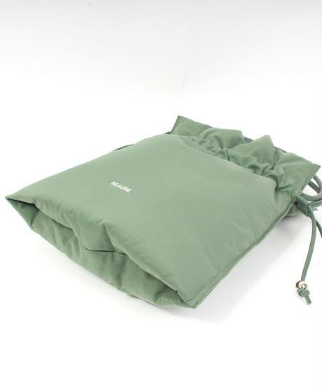 【B-21433】BEAURE  ボンディング 軽量 巾着 トート