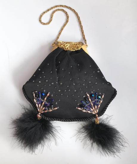 【Used Item】Pompon fur bag /ポンポンファー付きバック