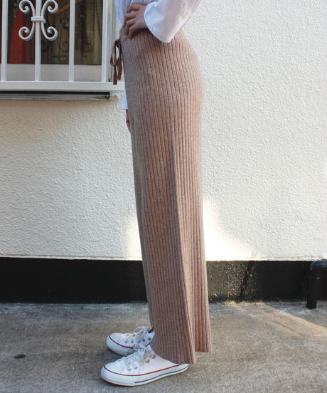 【migration】Lib knit pants / リブニットパンツ