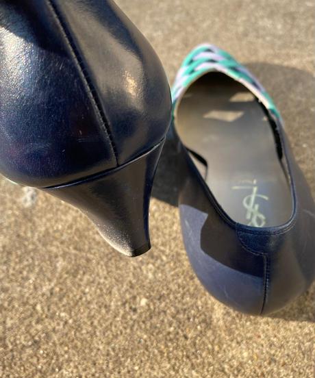 "【Used】""Yves Saint  Laurent ""Mesh pumps / イヴ・サンローラン メッシュパンプス"