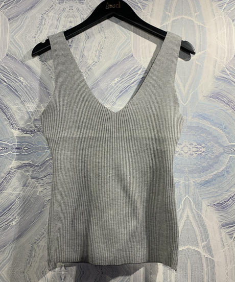 【migration】V neck sleeveless tops / mg-002 / Vネックノースリーブトップス