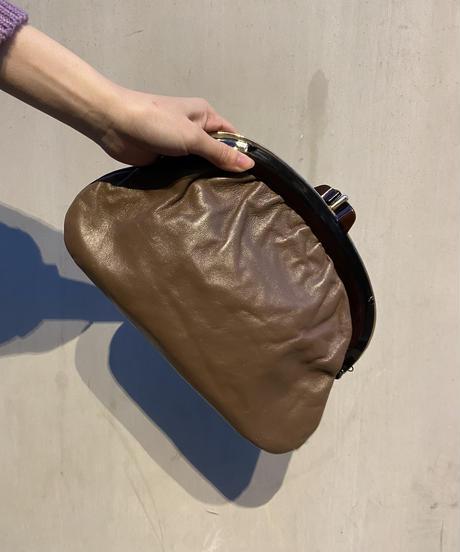 【Vintage】Frame clutch bag  / がま口クラッチバッグ
