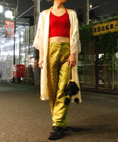【Vintage】Lingerie gown/刺繍ランジェリーガウン
