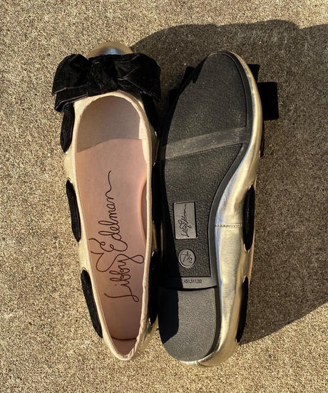 "【Used】Flat shoes ""velvet ribbon"" / フラットシューズ"