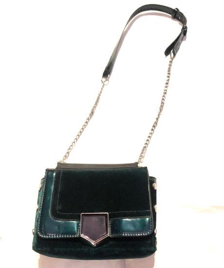 【Used】Velor shoulder bag / ベロアショルダーバッグ