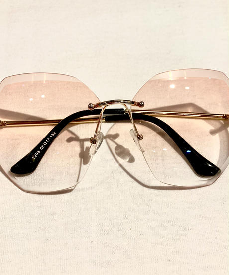【selected Item】Clear big sunglasses / クリアビッグサングラス / mg203