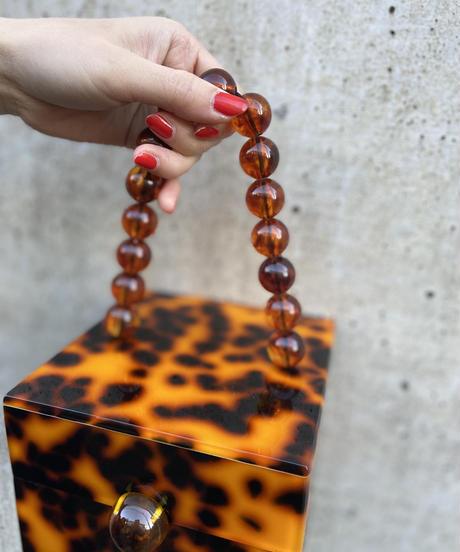 """【Selected item】Box bag """"BROWN"""" / ボックスバッグ / mg451"""
