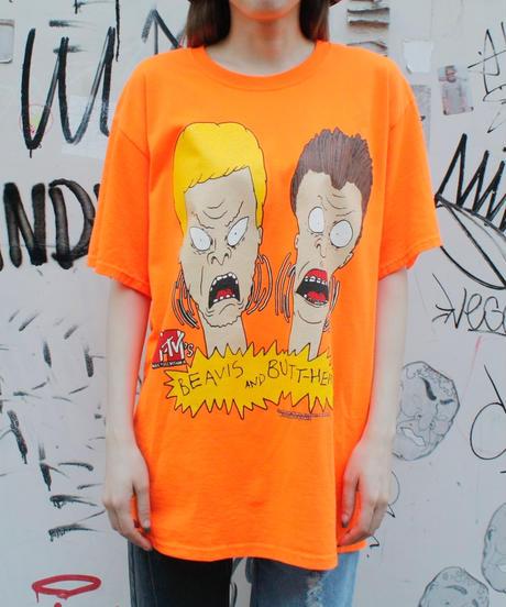 【Used】BEAVIS AND BUTT-HEAD T'S/ビーバス・アンド・バットヘッドTシャツ