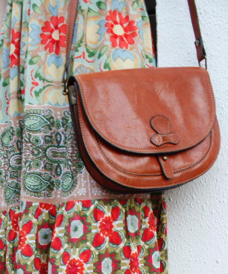 【Used】Leather shoulder bag/レザーショルダーバッグ