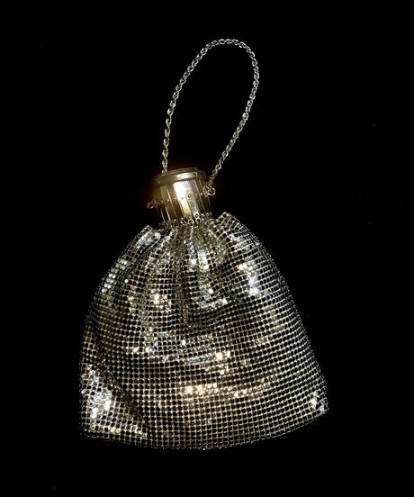 【Used】 silver&gold Spangle bag / スパンコール2セットバッグ