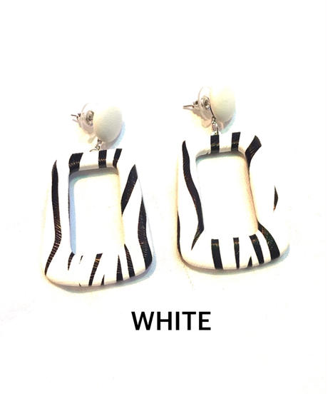 【Selected item】Zebra Pierce / ゼブラピアス