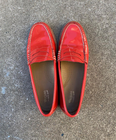 【Used】Enamel leather loafer / エナメルレザーローファー