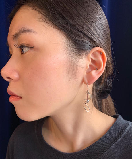【Selected item】silver 925  pierce/デザインピアス