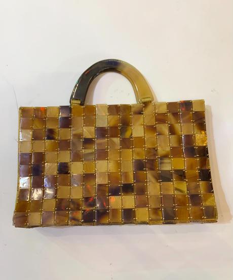【used item】Tile desgin hands bag / タイルデザインハンドバッグ