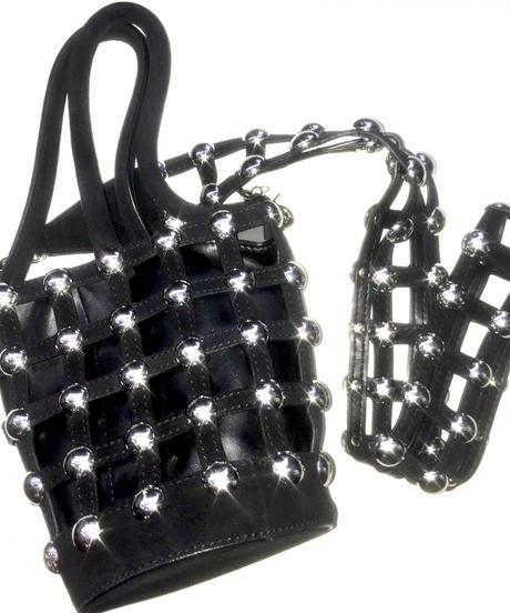【Used】Studs  design shoulder bag/スタッズショルダーバッグ