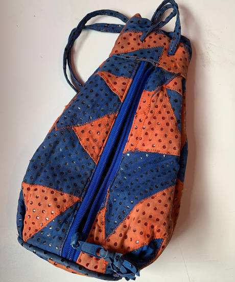 【Used Item】Leather patchwork shoulder bag / レザーパッチワークショルダーバッグ