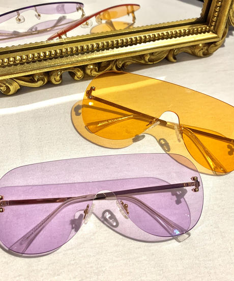【Selected Item】Clear teardrop sunglasses / mg243 / クリアカラーティアドロップサングラス