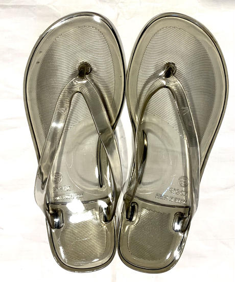 【Selected Item】Clear beach sandal / クリアビーチサンダル / mg-279