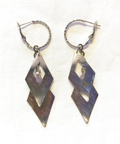 【Selected item】 Diamond  pierce / ダイヤ型ピアス