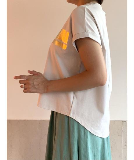 [MAGLIA STELLA]ヴィンテージラインTシャツ【ベージュ】