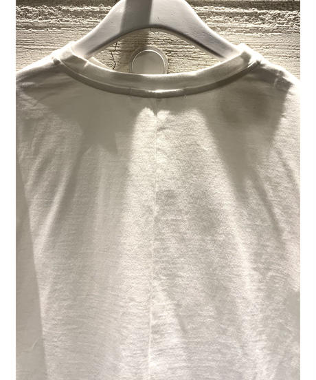 [MAGLIA STELLA]ヴィンテージラインTシャツ【ホワイト】