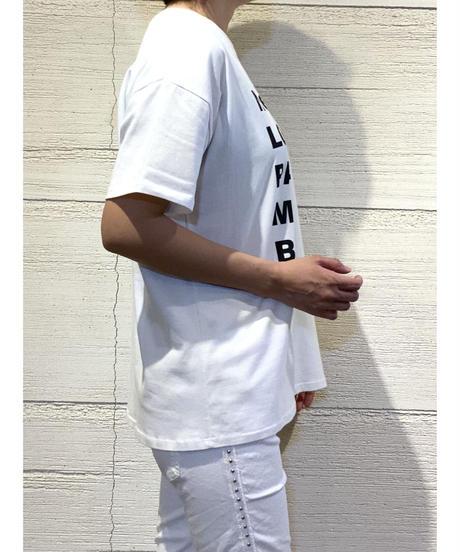 CITY ロゴ tシャツ【ホワイト】