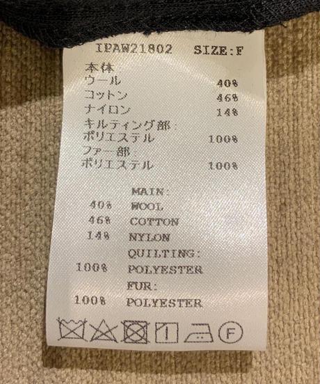 ◆NEW◆[IN-PROCESS Tokyo]パッチワークプルオーバーニット【アイボリー】