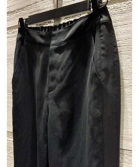 [Srieee]スリットサイドラインパンツ【ブラック】