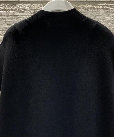 ◆NEW◆[BEATING HEART]スタンドカラーニットワンピース【ブラック】
