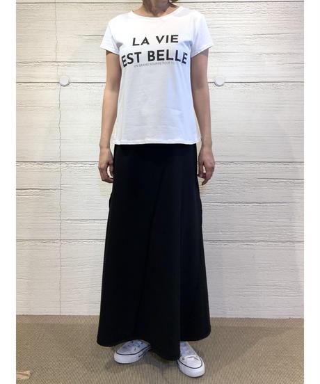 LA VIE EST BELLE tシャツ【ホワイト】