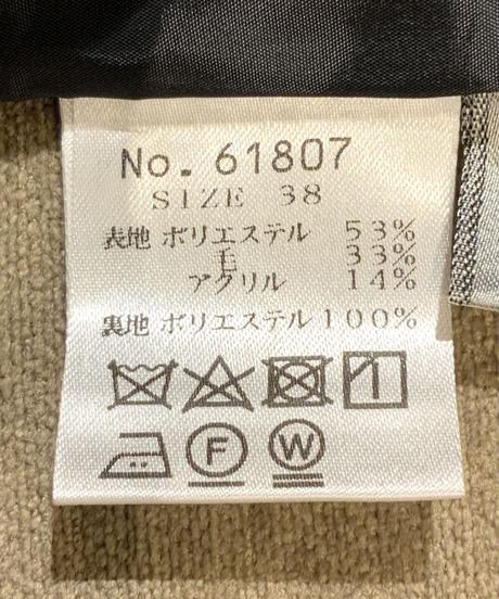 ◆NEW◆[GEY GRY]チェック柄ワイドパンツ【グリーン】
