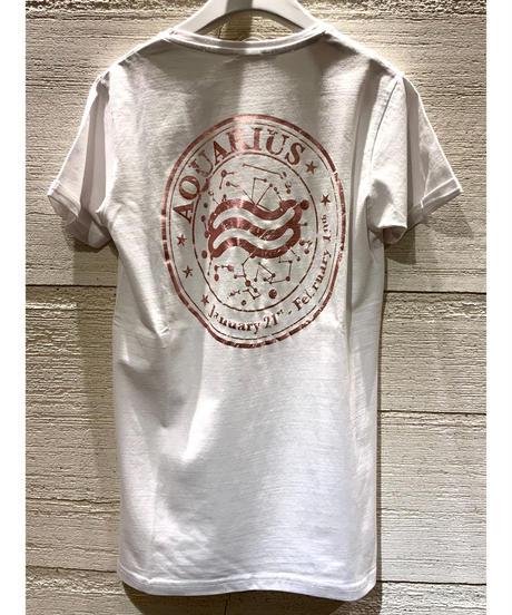 星座Tシャツ【みずがめ座】
