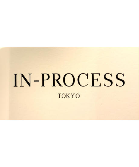 ◆NEW◆[IN-PROCESS  Tokyo]パッチワークプルオーバーニット【ブラック】