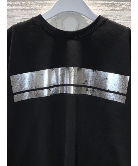 [MAGLIA STELLA]ヴィンテージラインTシャツ【ブラック】
