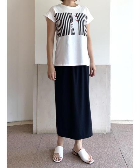 Striped girl Tシャツ